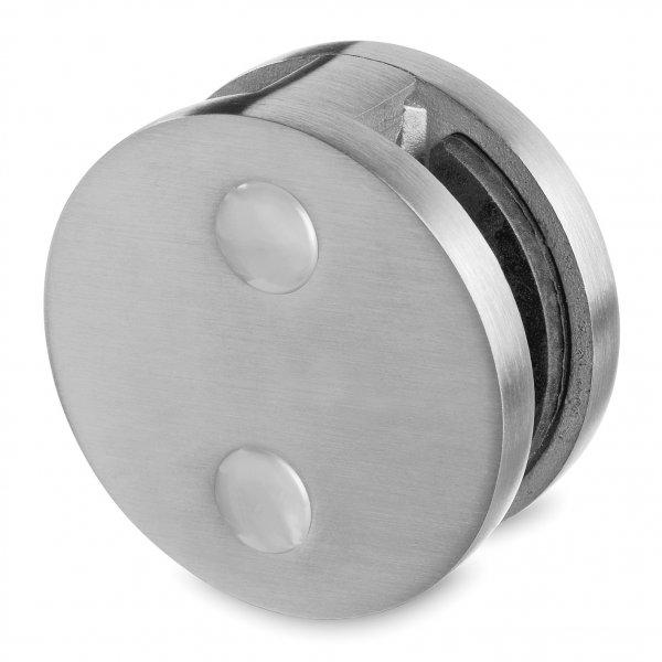 or6004 runder glashalter 60 mm mit zweiseitigem anschluss f. Black Bedroom Furniture Sets. Home Design Ideas